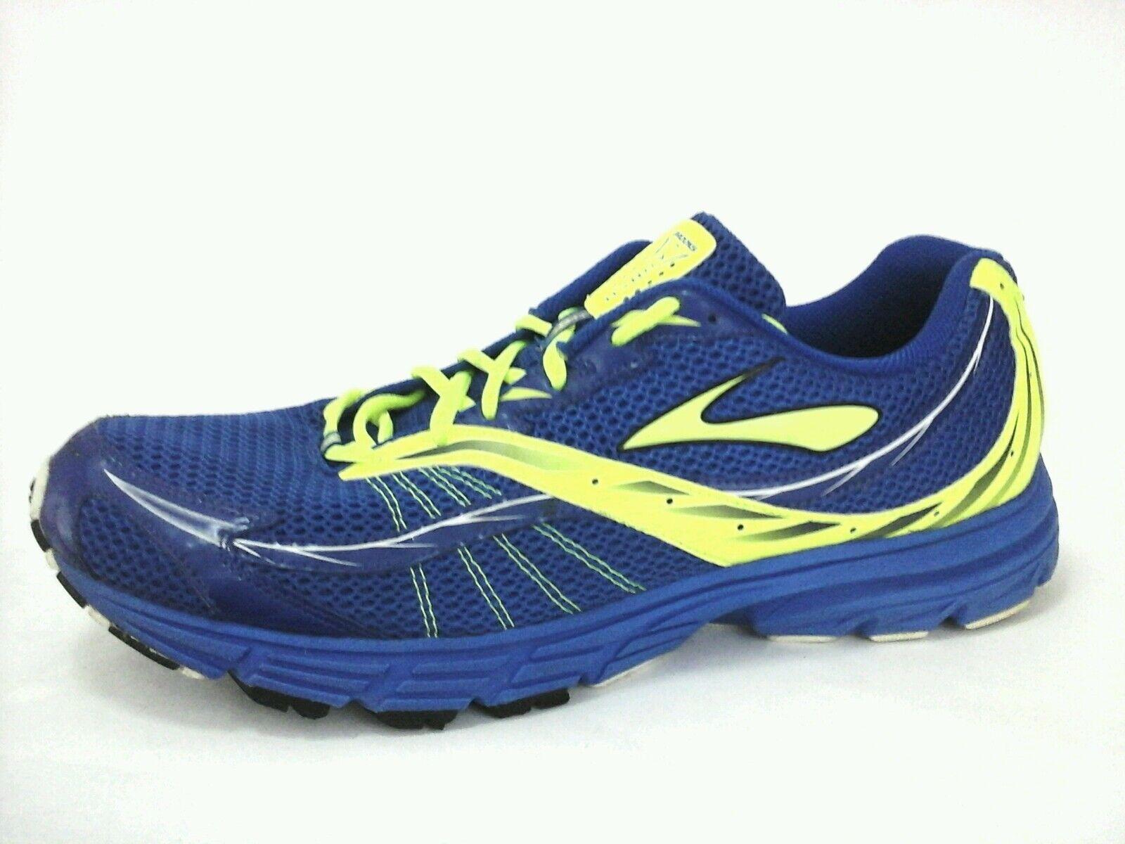 new concept 369ff 724ca BROOKS Sneakers Launch Men Blue Yellow Running Running Running Shoes Men s US  14  100 6d2784