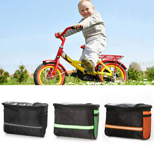 Bicycle Bike Cycling Handlebar Bag Front Frame Tube Pouch Basket Pannier Outdoor