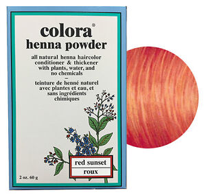 Colora-Henna-Powder-All-Natural-Hair-Color-60g-Red-Sunset