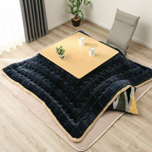 Table Cover Kotatsu Futon Blanket Cotton Quilt Comforter Patchwork Soft  Blankets