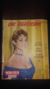 Rivista Brigitte Bardot il Mio Film N°601 Special Una Parisienne 1958 ABE