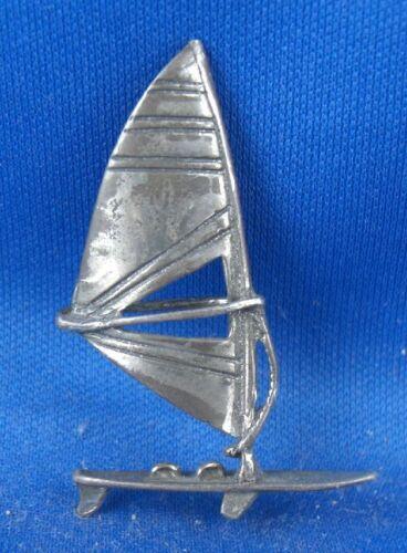 Surfbrett Segelsurfbrett Windsurf Figur Sammelobjekt 800er Silber