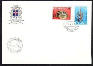 ISLANDA-1976-FDC-Europa-CEPT