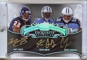 2008-UD-Exquisite-Chris-Johnson-Matt-Forte-Kevin-Smith-triple-1-1-Auto-signature