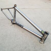 Sunday Bmx Bike Excelsior 20.75 Bicycle Frame Raw Mark Burnett Primo Cult