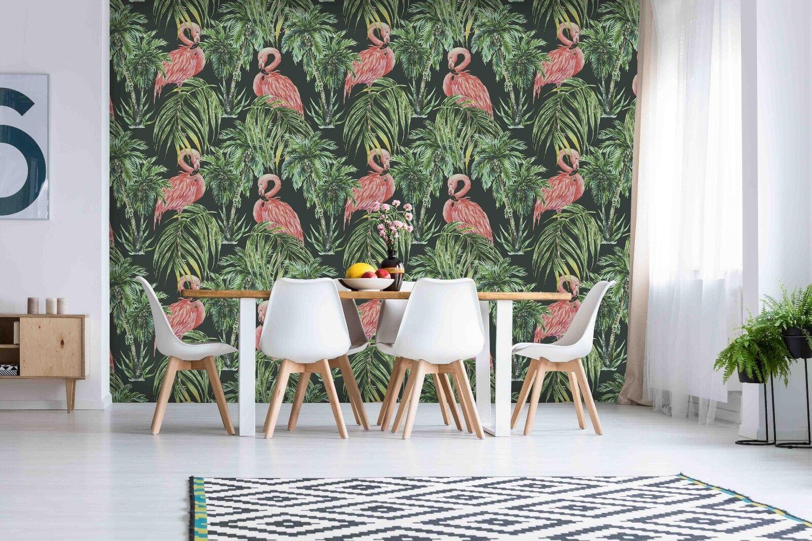 3D Crowned Crane 843 Wallpaper Mural Paper Wall Print Indoor Murals CA Summer