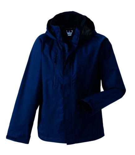 Grau oder Rot Jacke Regenmantel Russell Herren Schlicht Schwarz Blau