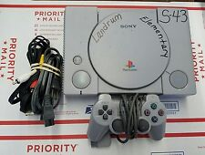 Original Sony Playstation One PS1 Gray Video Game Console 9001