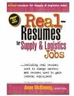 Real-Resumes for Supply & Logistics Jobs by Anne McKinney (Paperback / softback, 2012)