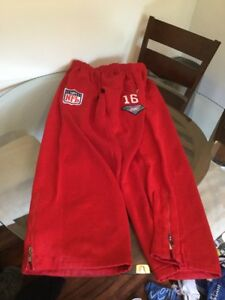 reputable site 4db3a 0eb47 Details about San Francisco 49ers Joe Montana Mitchell & Ness Pants #16 3XL  Good Condition