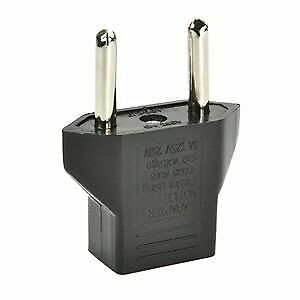 American USA to European Outlet Plug Adapter European Plug Adapter Charger Adapt