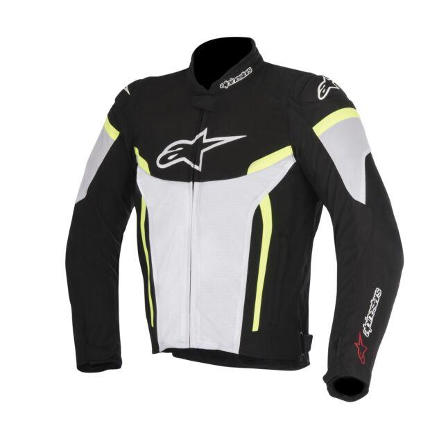 XXL Alpinestars Motorradjacken Stella T-gp Plus R V2 Jacket Black White Schwarz//Weiss