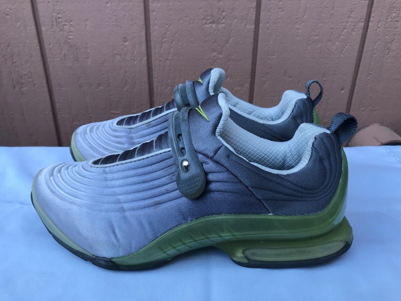 Euc raro nike 174288 031 air max specter gray scarpe da corsa, le donne noi 8 a2