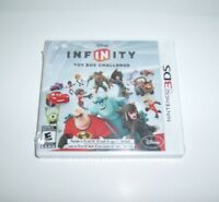 Disney Infinity 1.0 Game Only Brand Sealed Nintendo 3ds Toy Box Challenge