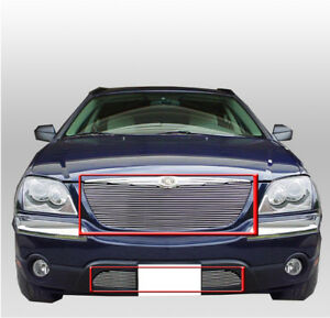 2004 2005 2006 CHRYSLER PACIFICA FRONT UPPER BILLET GRILLE GRILL INSERT TOURING
