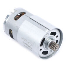 New Listing1pc 12v 19500 Rpm Dc Motor With Two Speed 12 Teeth Torque Gear Box For Drilhg