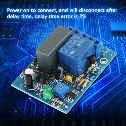 AC220V AC230V Adjustable Timer Delay Turn On//Off Switch Time Relay Module UK