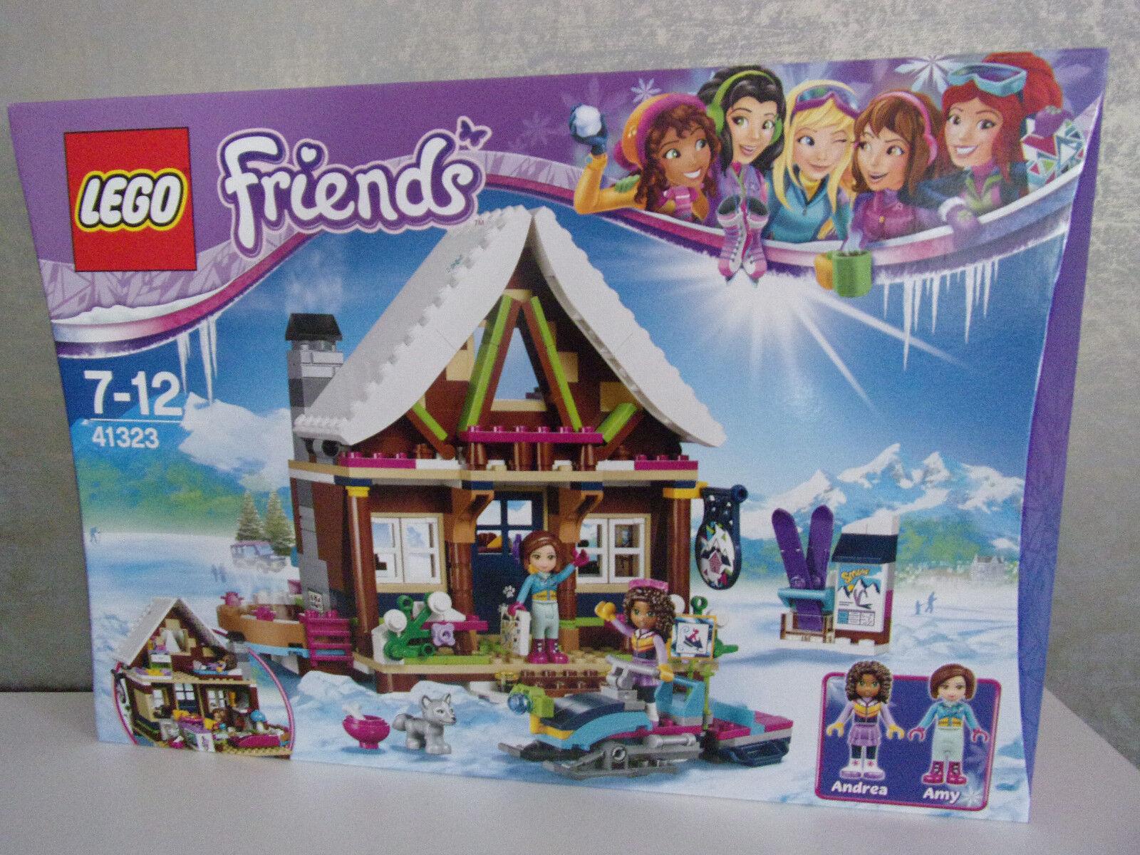LEGO Friends 41323 Chalet au wintersportort-NOUVEAU & NEUF dans sa boîte