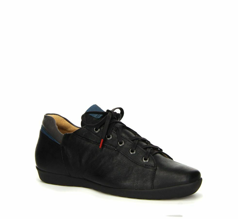 Think  ANNI Schnürer, Sneaker black kombi