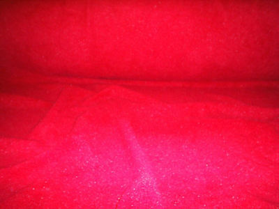 60 Inch Width Red Polar Fleece, Material,Fabric,Soft /Washable +