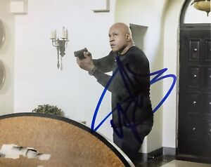 LL-COOL-J-HAND-SIGNED-8x10-PHOTO-AUTOGRAPHED-RARE-AUTHENTIC-NCIS-ACTOR