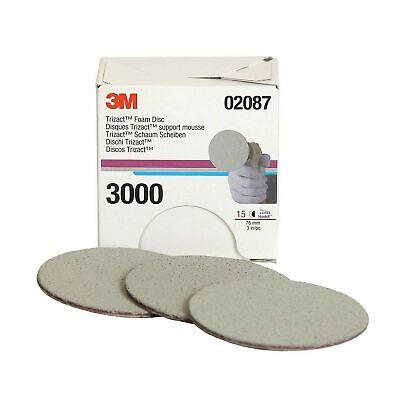 3M 30290 Trizact Hookit 2-3//4 x 5-1//2 P3000 Grit Foam Sheet