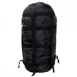 US-Kompressionssack-schwarz-Modular-Packsack-Schlafsack-Huelle-Beutel-NEU