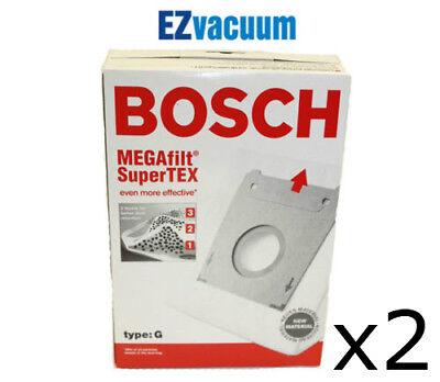 Bosch Part #462544 Genuine Type G MEGAfilt SuperTEX Vacuum Bag