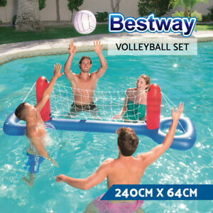 Bestway Floating Charms Float Game Toy Gopro Floaty Inflatable Pool Set & Ball