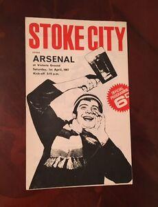 Stoke-City-v-Arsenal-programme-1966-67