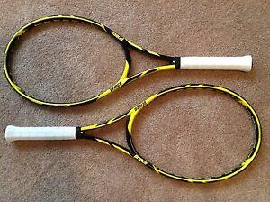 Pair (2) NEW PRINCE Tour 98 Tennis Rackets 4 3/8 16 x 20 ResiGRIPS BRYANS String