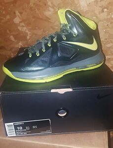 best service 9f114 474a1 Image is loading Nike-Lebron-10-X-Dunkman-Brand-New-Men-