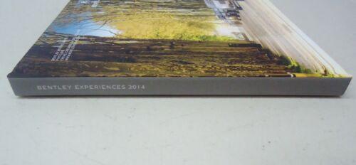 BENTLEY EXPERIENCES 2014 HARDBACK DEALER BROCHURE BOOK