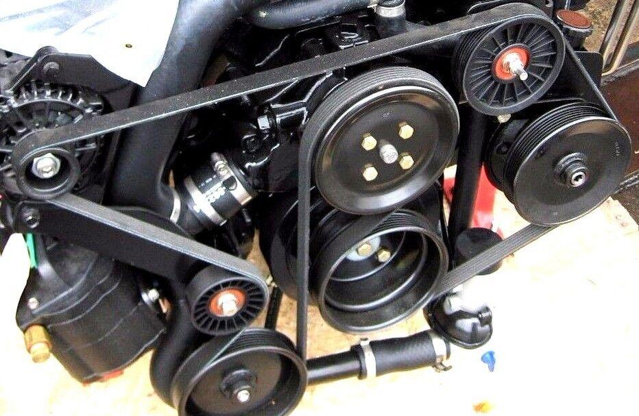 Mercruiser MAG 4,3 5,0 5,7 5,7 5,7 6,2 8,2 MPI Keilriemen Rippen Bravo 3 57-865615-003 d6d52f