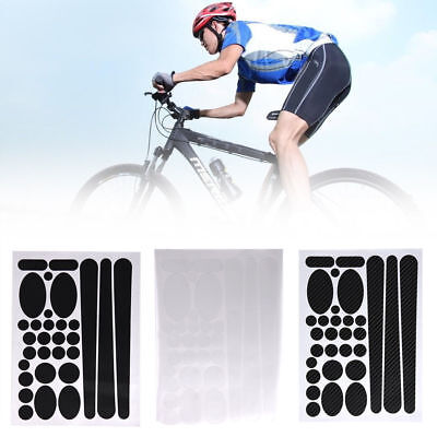 Bike Chainstay Frame Scratch Protector Bicycle Protective Sticker Paster KitS