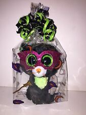 "Ty Beanie Boos 6"" Jinxy Plush Black Cat Halloween 2014 NWMT P40"