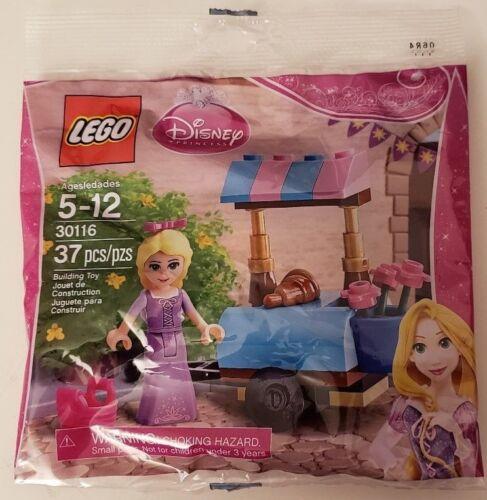 NEW /& SEALED Lego DISNEY PRINCESS Set 30116 RAPUNZEL/'S MARKET VISIT PolyBag
