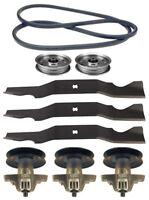 Cub Cadet I1050 50 Lawn Mower Deck Parts Kit Spindles Blades Belt Free Shipping