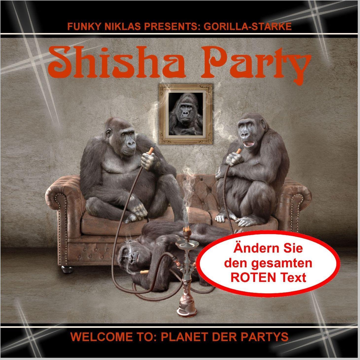 Einladung Shisha Party Geburtstag Wasserpfeife - Text änderbar, jedes Alter Alter Alter TOP     Innovation    Neueste Technologie  c0e9de