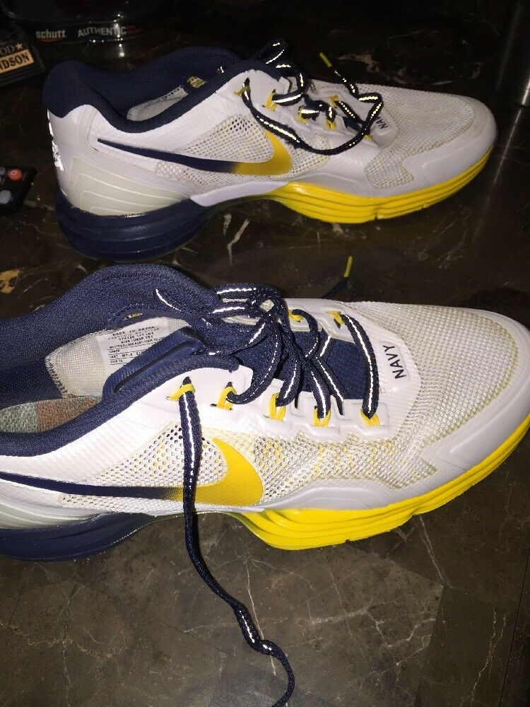 PROMO SAMPLE Nike 12.5 US Naval Academy Player Exclusive shoes Army Navy Game