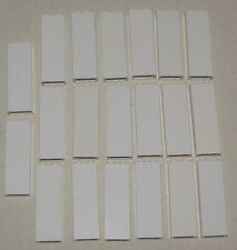 LEGO LOT OF 20 WHITE PILLARS 1 X 2 X 5 HOUSE WALL COLUMN PARTS