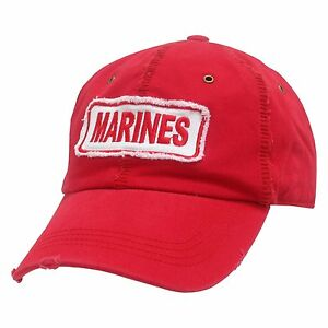 UNITED-STATES-US-MARINES-BASEBALL-POLO-CAP-CAPS-HAT-DIS