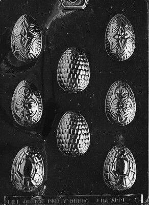 FANCY EGG ASSORTMENT mold Chocolate Candy bunnies eggs rabbit bows easter E95