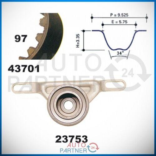 Zahnriemen Satz mit Spannrolle 97 Zähne x 19,8 mm für Ford Escort Fiesta 3 1.6i