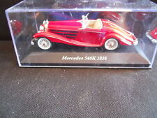 Legendary Cars  MERCEDES 540K 1936     1:43 Die Cast  [MZ]