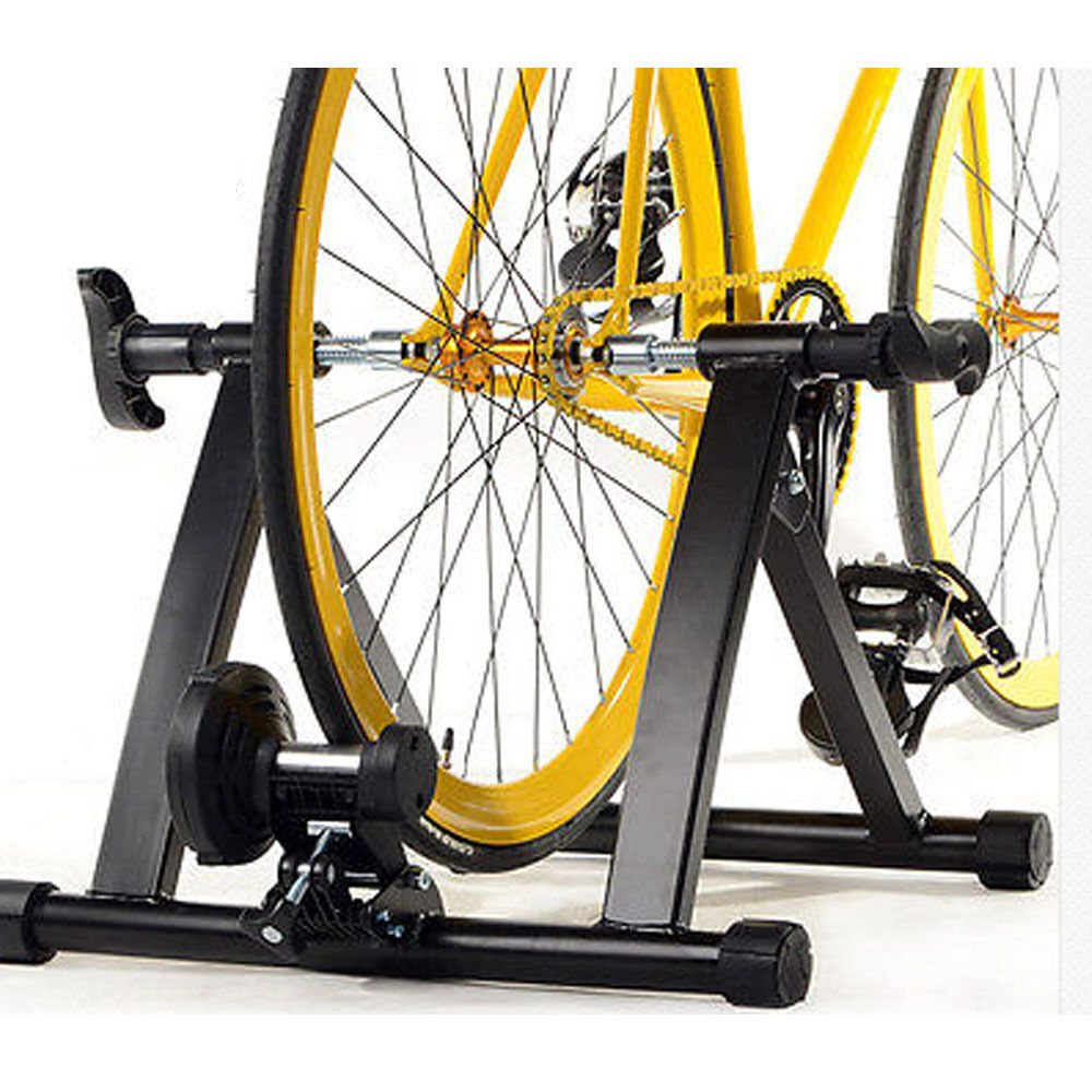 Portable Indoor Exercise Cycling Magnetic Resistance Bicycle Trainer Bike  Stand  60% off