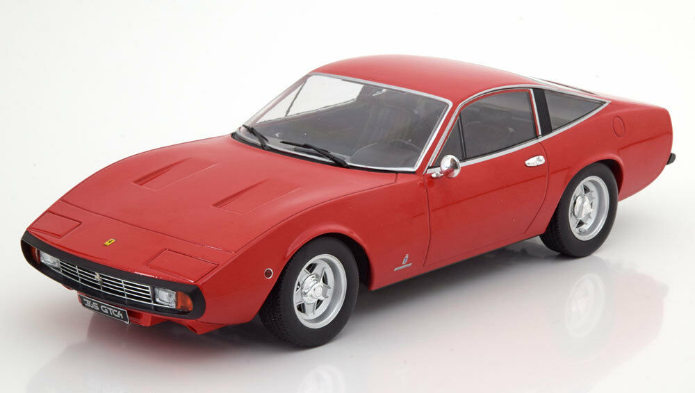 1 18 KK Scale FERRARI 365 GTC4 1971 RED Limited to 1500 Pieces