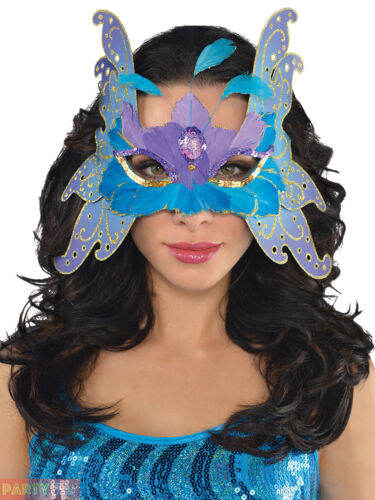 Ladies Alluring Butterfly Accessories Adults Fairy Nymph Womens Fancy Dress