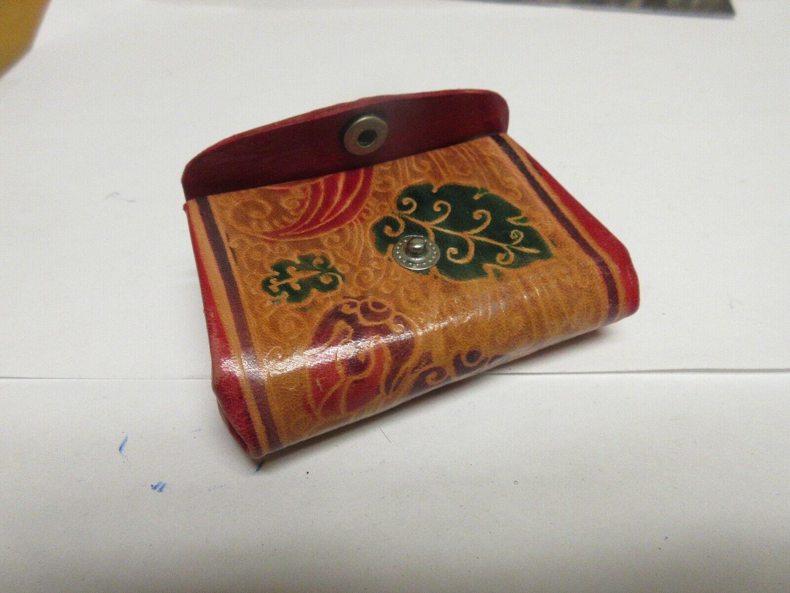 """Ladies Wallet / Change Purse , Vintage , Unique , 3""""X2"""""""