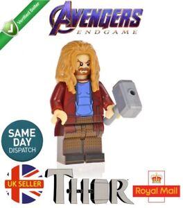 Avengers Thor Figure Stormbreaker Mjolnir End Game Marvel Lego Fit UK Seller